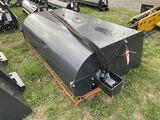 NEW WOLVERINE BOX BROOM SWEEPER, 72'', SKIDSTEER MOUNT