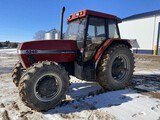 1996 CASE IH 5240 TRACTOR, MFWD, 3PT, PTO, 2-REMOTES, 18.4R38 REAR TIRES, 14.9-24 FRONT TIRES, 3,955