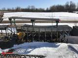 ACCORDION STYLE CONVEYOR ON WHEELS [1], AND STRAIGHT ROLLER CONVEYOR SECTION [1]