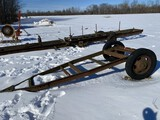 WAGON FRAME, 11' X 46'' AXLE IS NOT MOUNTED TO FRAME