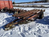 HESSTON STACK MOVER 30 BALE MOVER, SINGLE AXLE, PIN HITCH