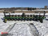 JOHN DEERE 7300 MAXEMERGE 2 VACUMETER PLANTER, 12-ROW, 1 BOX MISSING, 3-POINT, MARKERS, S/N: H07300A