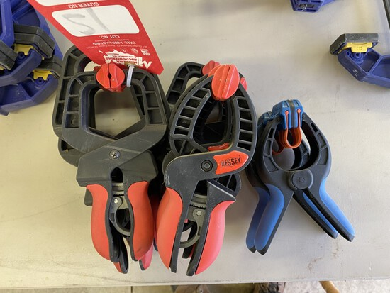 ASSORTED HAND CLAMPS