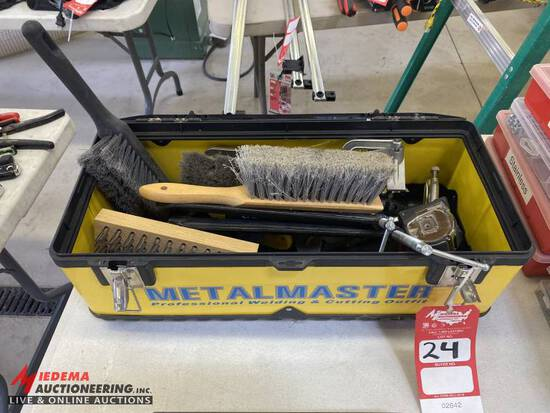 TOOL BOX, CLAMPS, & MORE