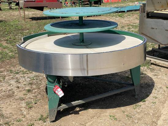 ROTARY TABLE, 6', 220 VOLT MOTOR