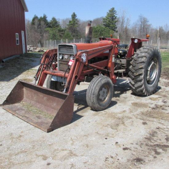 Massey Ferguson 285 Tractor Information : Massey ferguson tractor auctions online proxibid