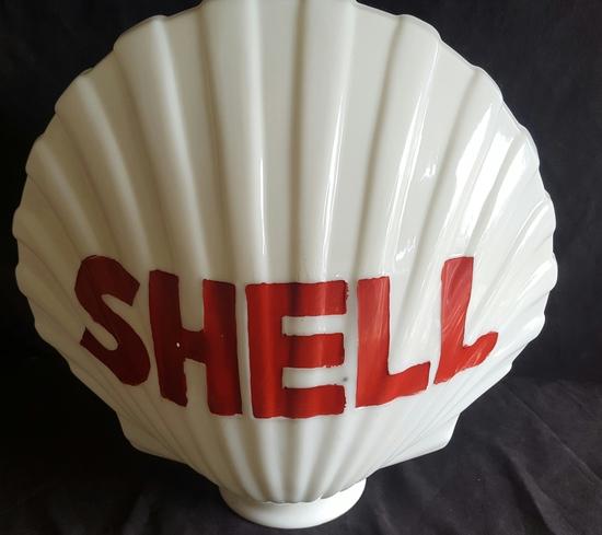 Shell Gas Pump Globe | Art, Antiques & Collectibles
