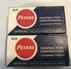 Peters .32 S & W Long Center Fire Cartridges