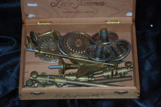 Vintage Brass Door Hardware
