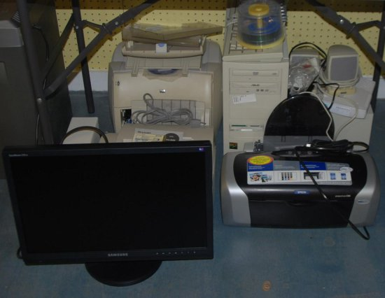 Computer, Printers, Fax