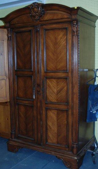 Sligh Clothing Armoire, Medium Finish