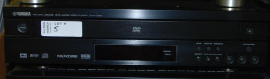 Yamaha DVD A/V Player DVD-C920