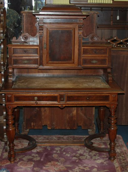 Flat Top Writing Desk w/ Top Unit