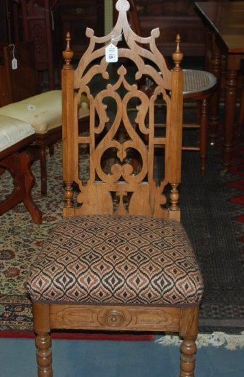 Plain Gothic Vic Side Chair