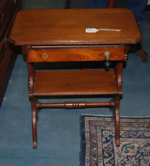 Small Victorian Work Table