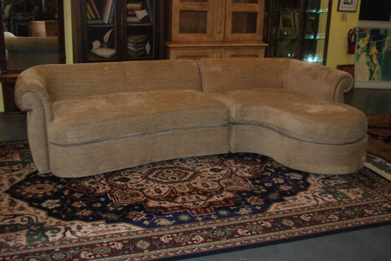 2 Pc. Sectional Sofa w/ Chaise Beige