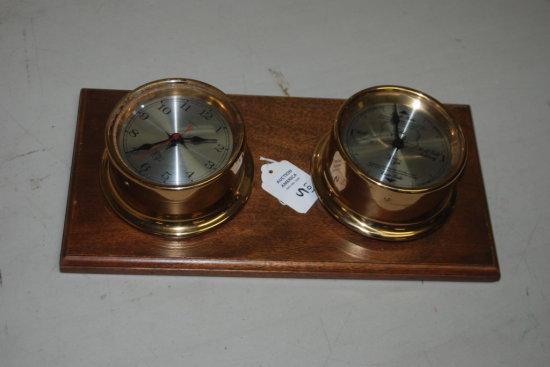 Clock-Barometer