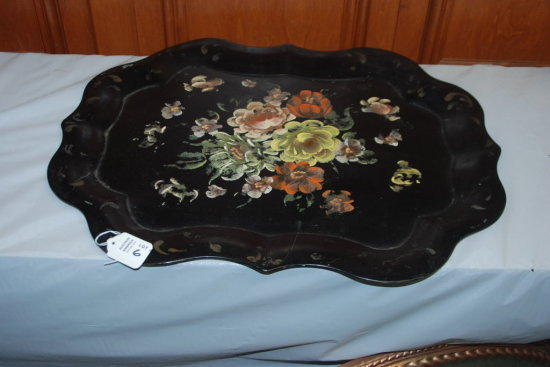 Black Towle Tray