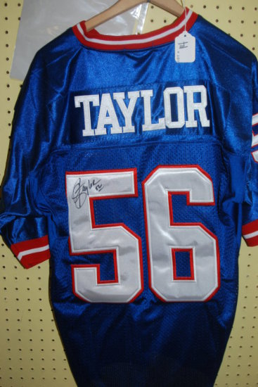 Signed Lawrence Taylor Jersey W/ COA