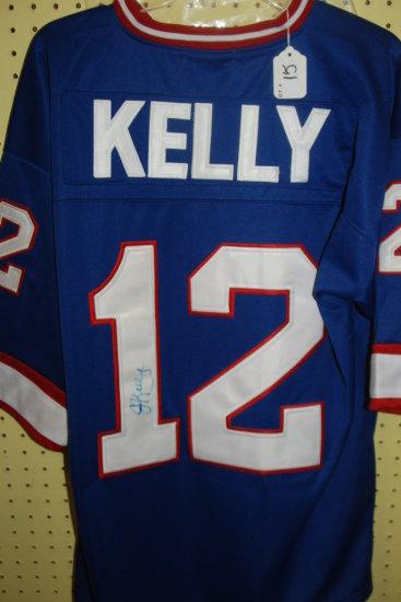 Signed Jim Kelly Jersey W/ COA