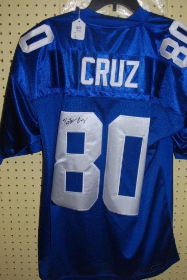 Signed Victor Cruz Jersey W/ COA