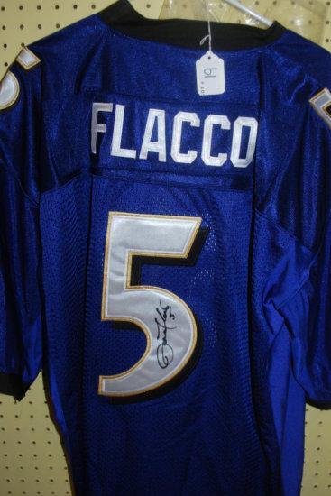 Signed Joe Flacco Jersey W/ COA
