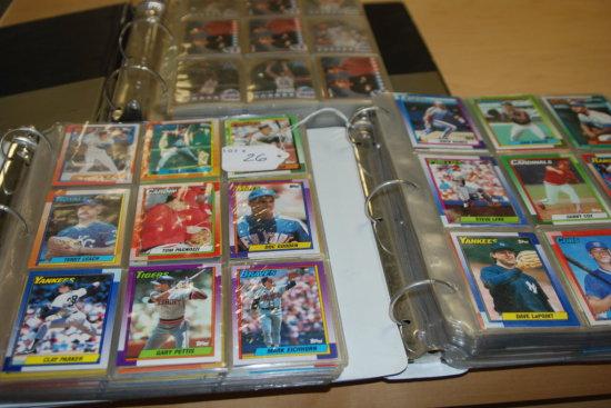 2 Books of Baseball Cards