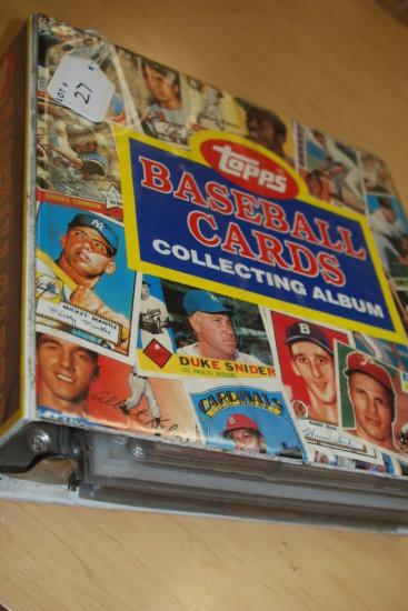 1 Book of Baseball Cards