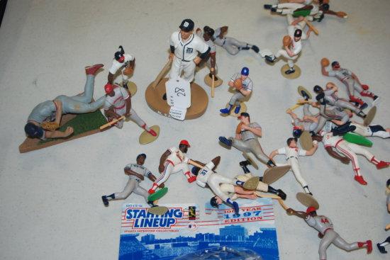 Collection of Baseball Figures