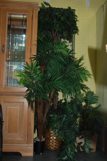 Group of faux trees/plants