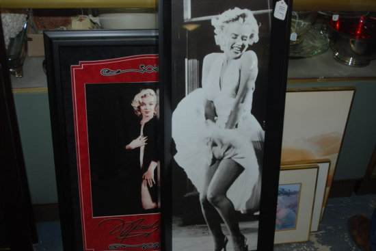 Framed Art Lot Marilyn 7 Pcs.