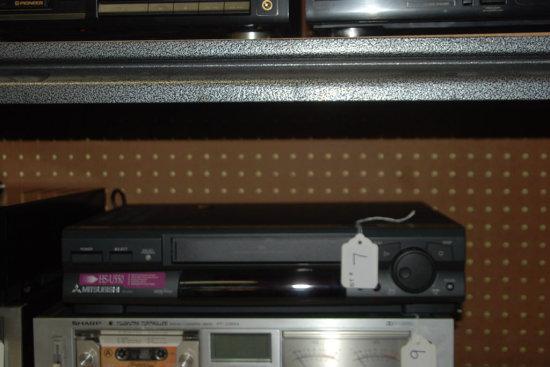 Mitsubishi Hi-Fi stereo video cassette recorder, HS-U550