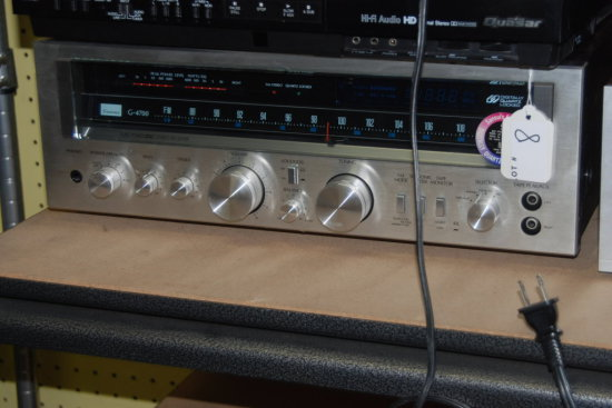 Sansui pure power DC stereo receiver, G-4700