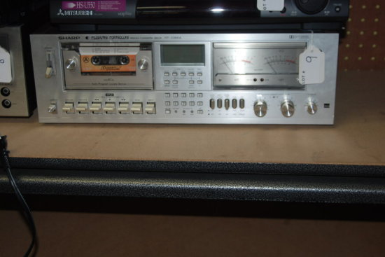 Sharp computer controlled stereo cassette deck, RT-3388A