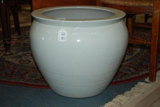 White Porcelain Jardiner
