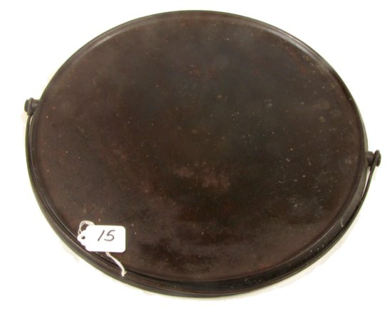 Lot:15 - Round Bailed Griddle; Wapak; 742; #14