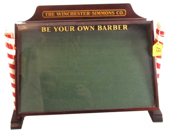 Store Display; Be Your Own Barber; The Winchester-simmons Co.