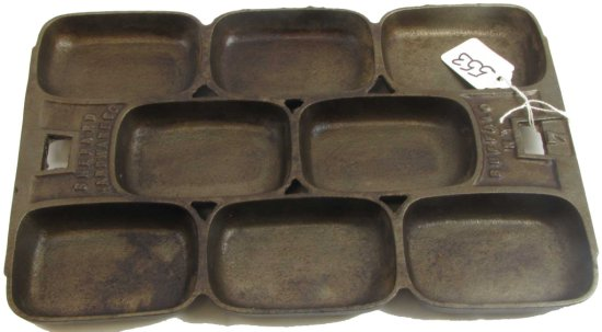 Muffin Pan; Shepherd Hardware Co. Buffalo; Ny; 7 ( All Raised Letters)