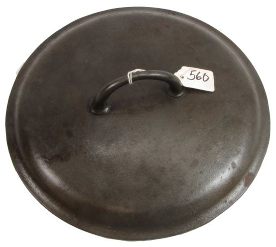Dutch Oven Lid: 9; Pn 2552; Low Smooth; (griswold)