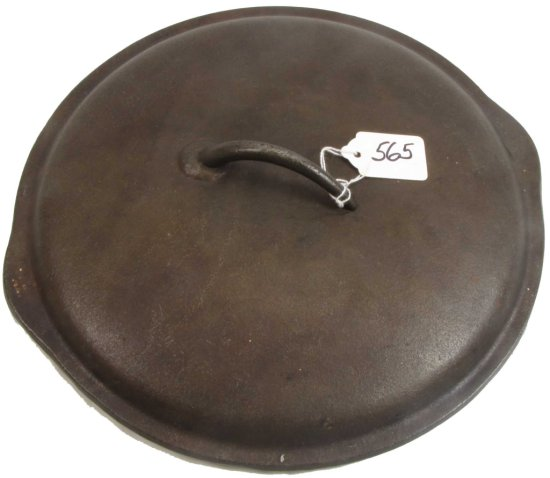 Dutch Oven Lid: #8; 10 5/8 In; Low Smooth; Dimpled