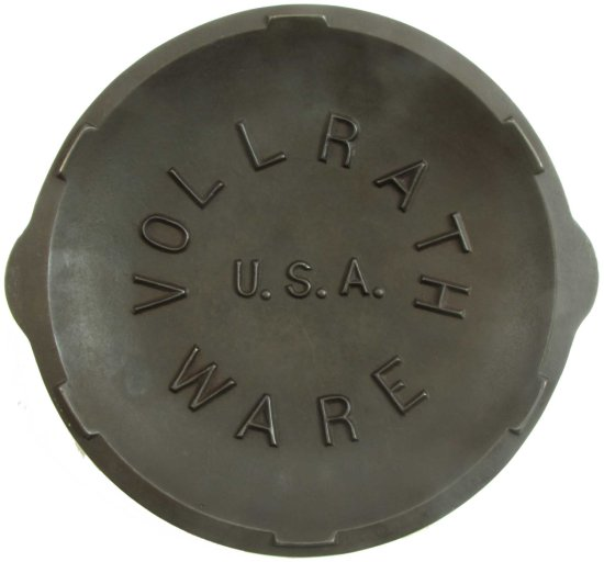 Lid: Vollrath Ware U.S.A; Raised Inside Lid; Function As Drip Rings