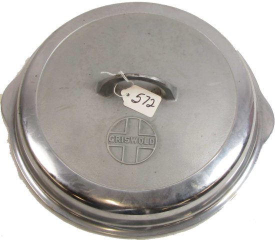 UPDATED: #11 (Not a #10) Skillet Cover; Chrome; Griswold; #10; Block; Epu; Pn 1100; High Dome; Logo