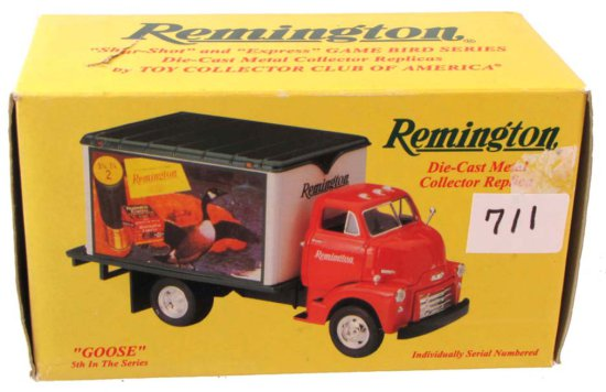 """Remington Die Cast Metal Collectors Replica; """"goose""""; 5th In Series; 10-1134; First Gear"""