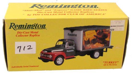 "Remington Die Cast Metal Collectors Replica; ""turkey""; 6th In Series; 10-1133; First Gear"