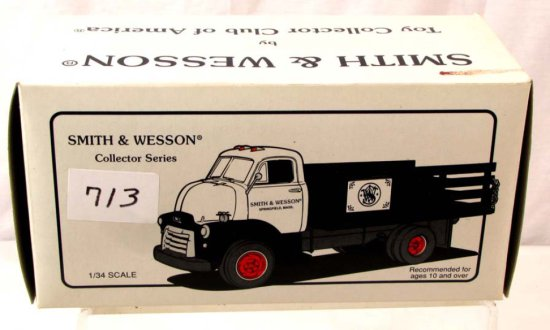 Smith & Wesson Collector Series; Die Cast; 1952 Gmc Full Rack Stake Truck; 10-1326; First Gear