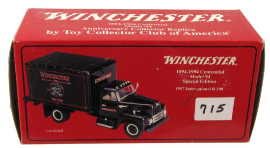 Winchester 1894-1994 Centennial Model 94 Special Edition; Die Cast; 1957 International R-190; 18-131
