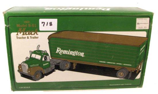 Remington Die Cast 1960 Model B-61 Mack Tractor & Trailer; 10-1292; First Gear