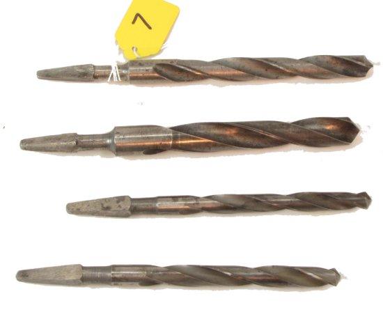 4 Drill Bits, Winchester 9/16, 11/16,15/32,7/16