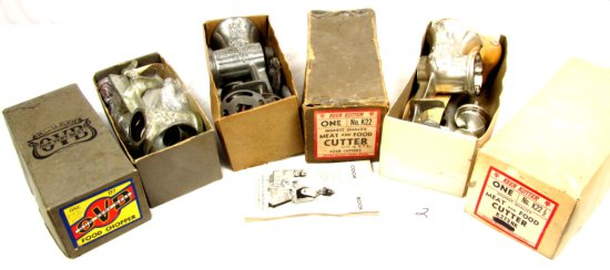 Lot: 3 Food Choppers; All In Orig. Boxes. Ovb #d7; Keen Kutter K22 & K22 ½; All In Orig. Boxes
