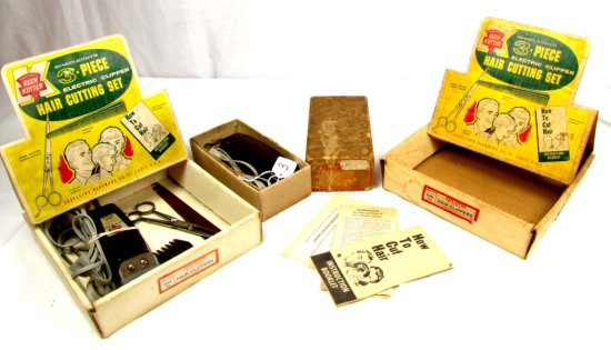 Lot: Shapleigh's 3 Pc. Hair Cutting Set In Box; S230; Ak; Big K Keen Kutter; 1 Empty Box; 1 Keen Kut